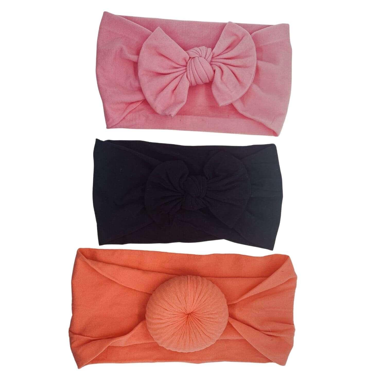 Coral/negro/rosa